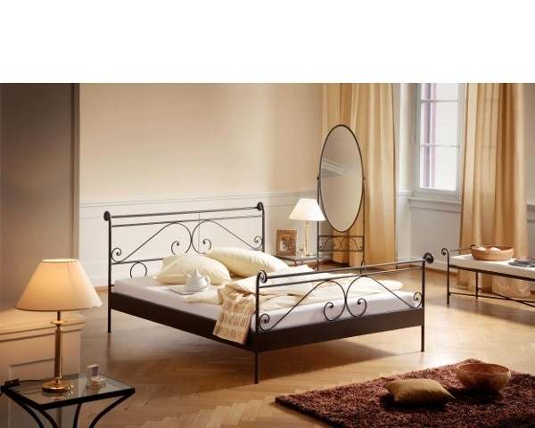 Metallbett Romantic Cerete 160x200