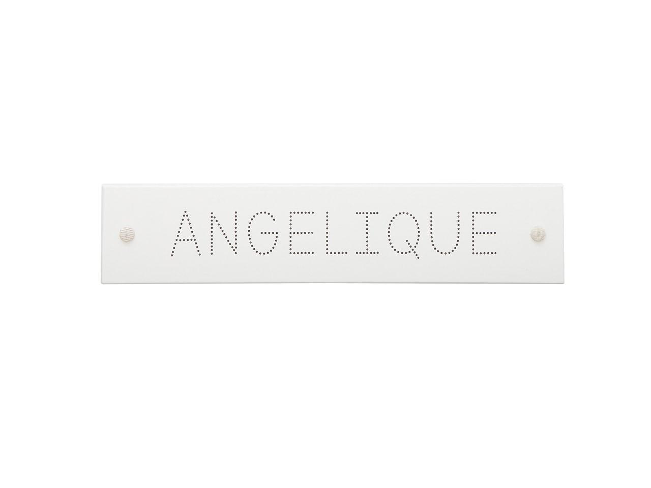 Lifetime Namensschild Fonts Dots 676-10