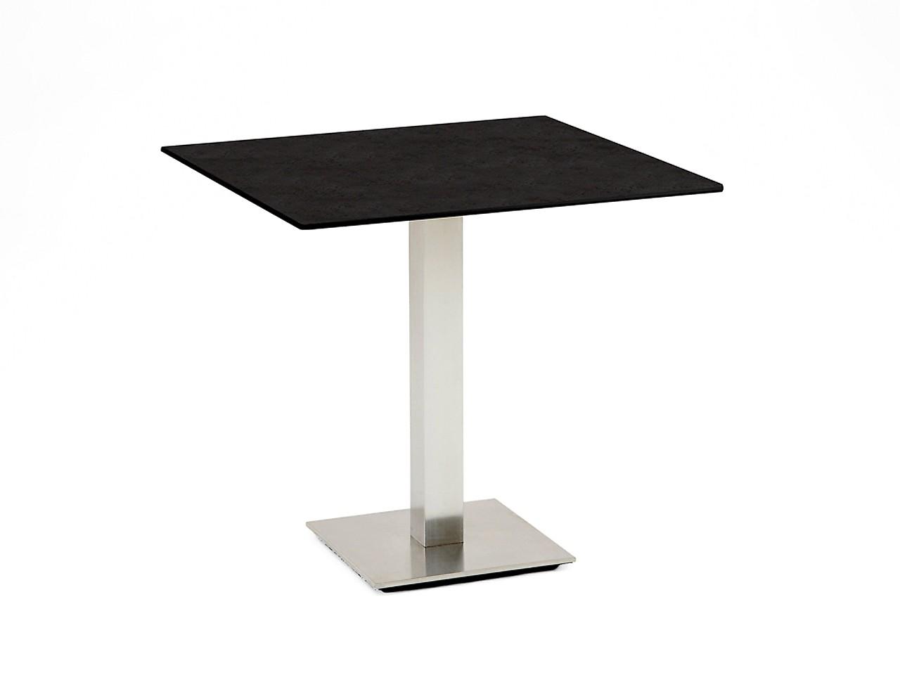 Niehoff Tisch Bistro quadratisch G513.006.001 68x68 cm Granit