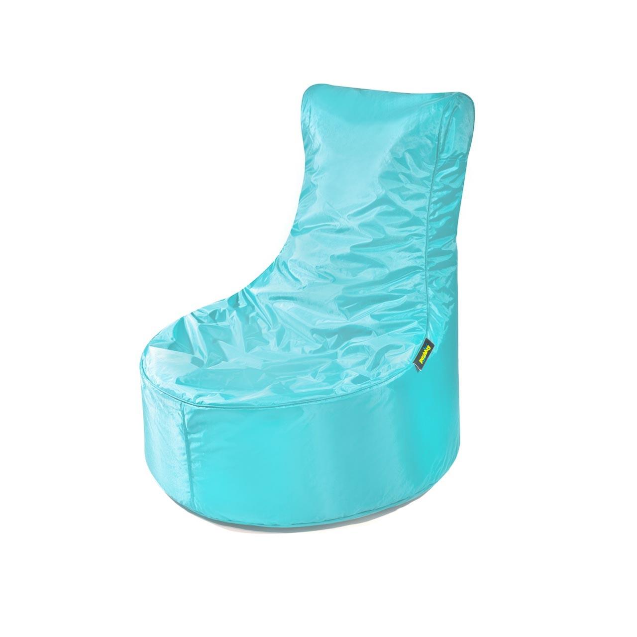 Pushbag Indoor Sitzsack Seat 11-SEA-OX-aqa oxford aqua