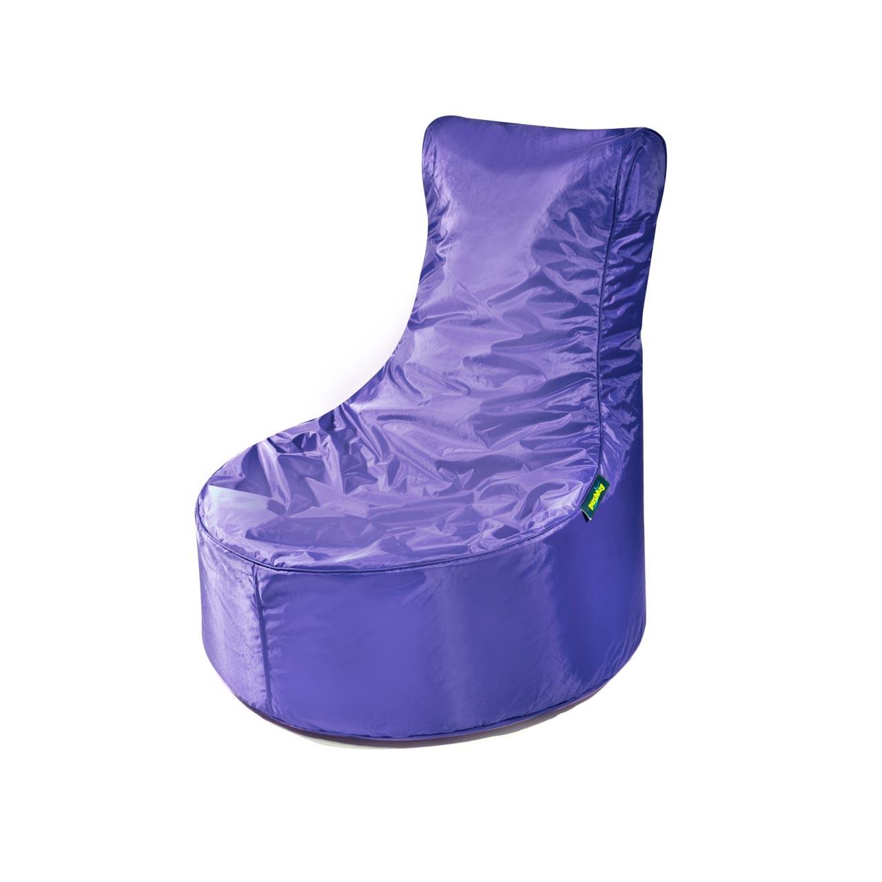 Pushbag Indoor Sitzsack Seat 11-SEA-OX-purple oxford purple