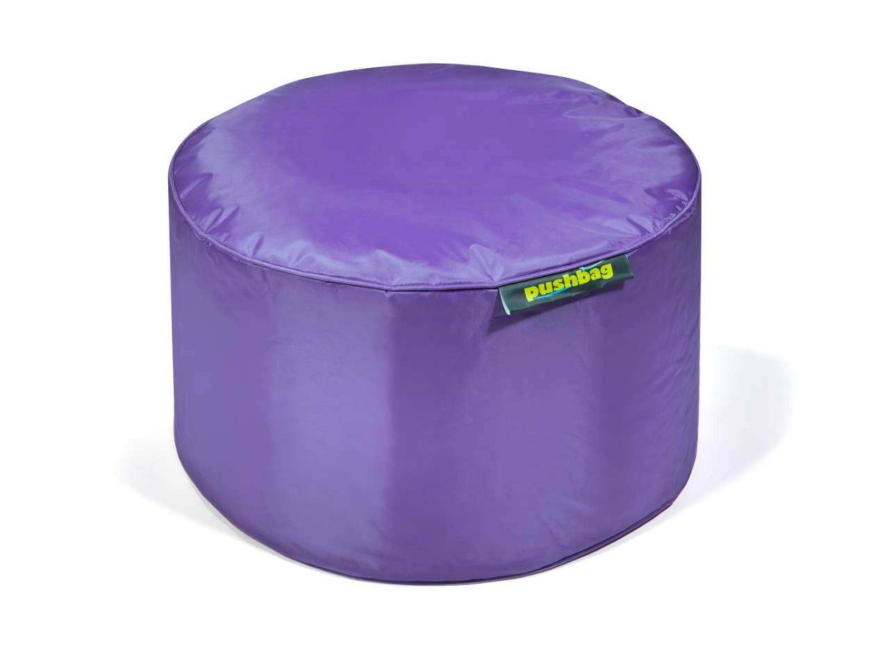 Pushbag Indoor Hocker Drum 11-DRU-OX-purple oxford purple
