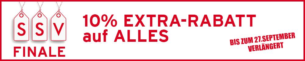 10% Extra-Rabatt  Code: SSV2020