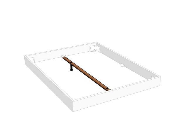 Hasena Längstraverse Midtraver für Betten ab 160 cm Bettlänge 200 cm 20-30 cm
