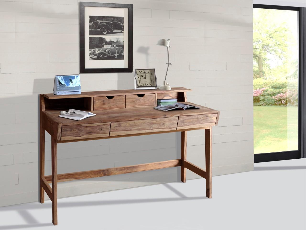 Wolf Möbel Schreibtisch mit 5 Schubladen 6470-K