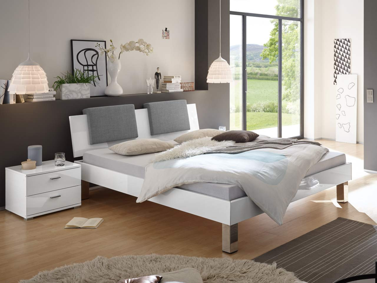bett weiss 140x200 genial bett x mit bettkasten wei with bett weiss 140x200 x cm wei von. Black Bedroom Furniture Sets. Home Design Ideas