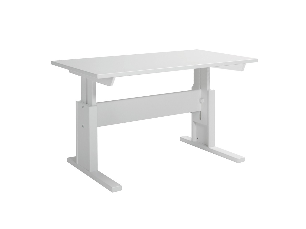 Lifetime Schreibtisch höhenverstellbar 30255-10 Weiß lackiert