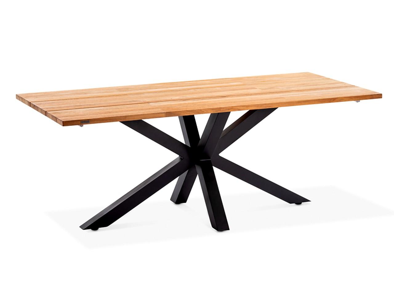 - Niehoff Teak Massivholz Gartentisch Alto G213.162.061 220x95 cm