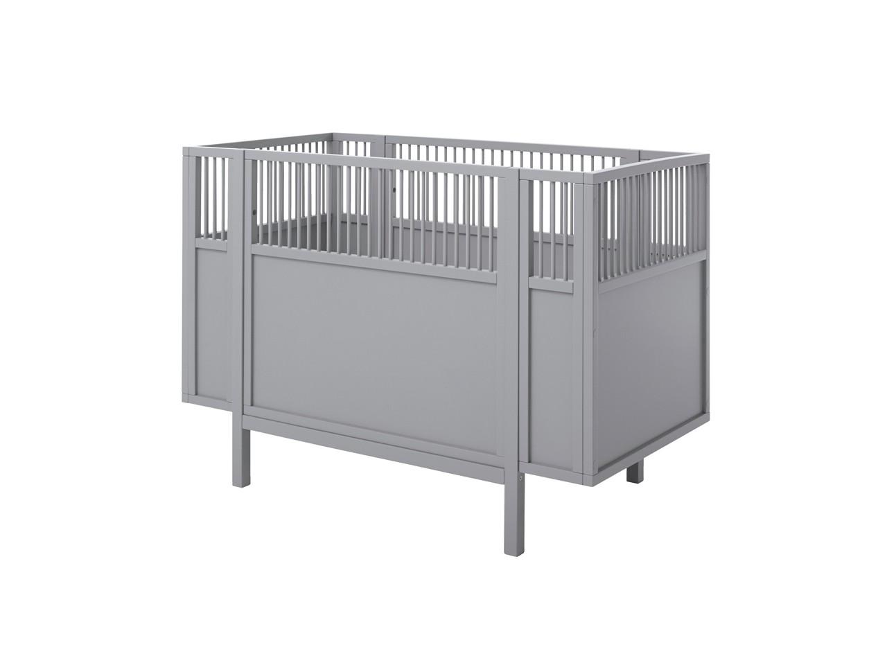 Lifetime Babybett 60x120 grau 7022