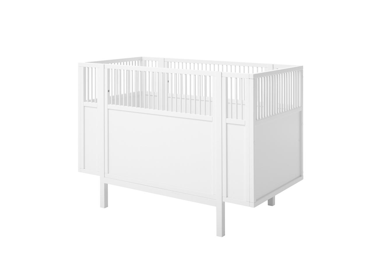lifetime babybett 60x120 weiss. Black Bedroom Furniture Sets. Home Design Ideas