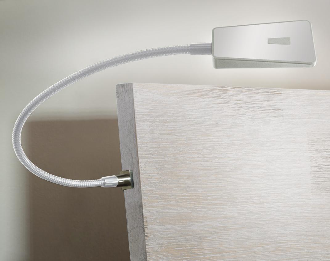 hasena nachttisch lampe smart weiss. Black Bedroom Furniture Sets. Home Design Ideas